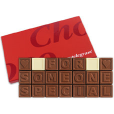 Chocoladetelegram 21 for someone special